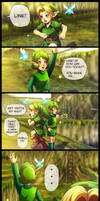 No time for you! by Queen-Zelda
