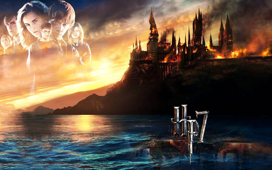 Harry Potter 7 Wallpaper By Bellselle On Deviantart