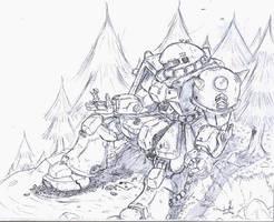 Zaku 2 by NCH85
