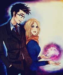 Doctor and Rose by nastjastark