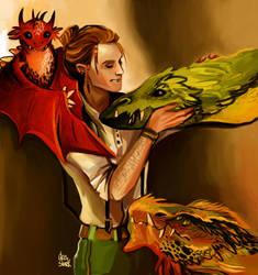 Charlie Weasley by nastjastark