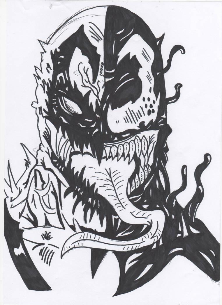 anti venom vs venom by ryanfabio894 on deviantart