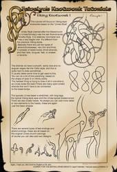 Viking Knotworks I (Basics IV) by Feivelyn