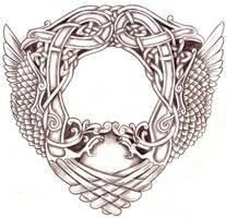 Celtic Frame Stock by Feivelyn