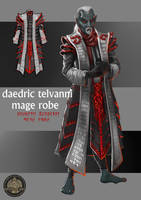 Daedric/Telvanni Mage Robe by Feivelyn