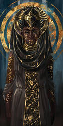Wota Priestess by Feivelyn