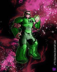 Khund Green Lantern by Ziggyman