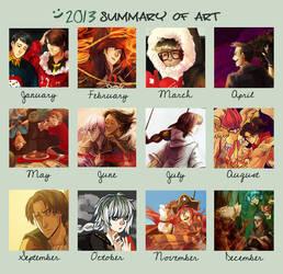 2013 Art Summary by Katarya
