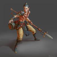 Demon Hunter by Naranb
