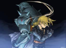 Fullmetal Alchemist by Gamubear