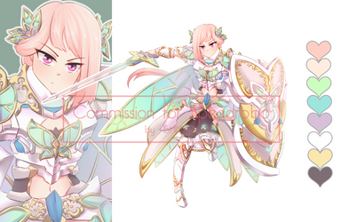 Commission : 03 Fairy Knight Gear by I5HIMARU