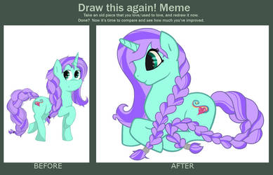 Draw this again Meme by ZombiesTaste