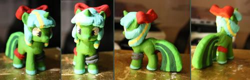 Delsin7Pony Clay Figure by ZombiesTaste