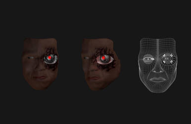 Terminator's face by IMangame