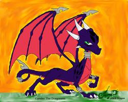 Cynder The Dragoness by cynderfan35