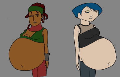 Request: Pregnant Nix and Kuo again by rapfiennes