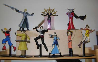 Final Fantasy VIII Play Arts by zelu1984