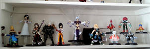 Final Fantasy IX Play Arts setup by zelu1984