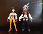Kuja Play Arts Comparation by zelu1984