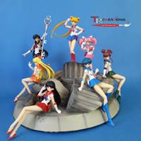 Sailor Moon Figuarts by zelu1984