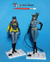 DC Collectibles - Custom Batgirl figure (WIP) by zelu1984