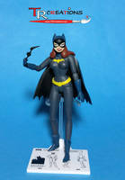 Custom Animated Batgirl Figure by zelu1984