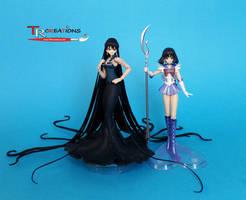 Sailor Moon - Mistress 9 custom S.H. Figuarts by zelu1984