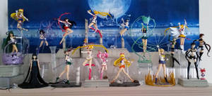 Sailor Moon Figuarts Collection :) by zelu1984