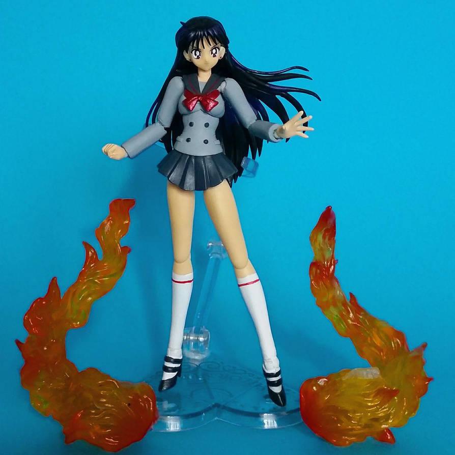 Sailor Moon S.H.Figuarts - custom Rei Hino by zelu1984