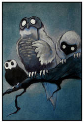 Owls by AgaGorzo
