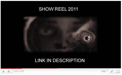 Show Reel 2011 by AgaGorzo