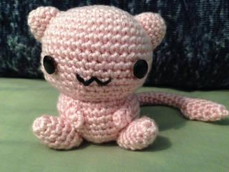 Crocheted Mew by Kimi133