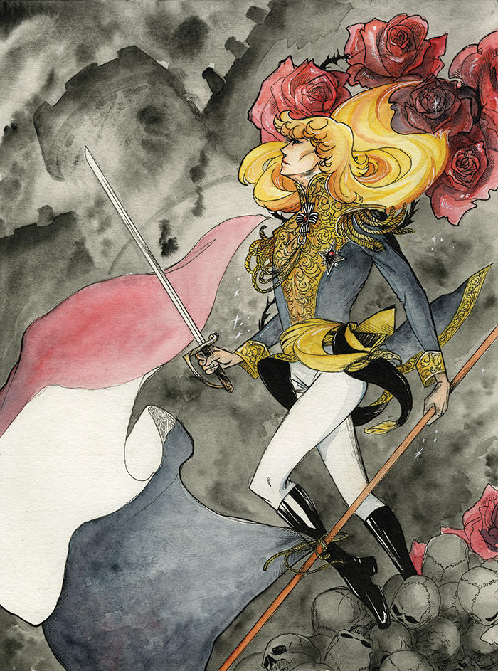 The Rose of Versailles by PhantomSeptember