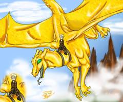 Weyrlings take Flight by Nako