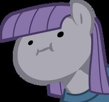 Maud Pie wut face by nano23823