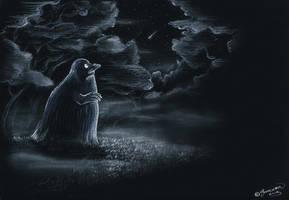 All alone by Saranna
