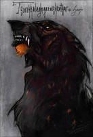 My anger, my fire by Saranna