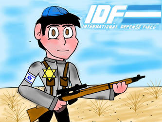 Me as an IDF soldier by titodeal