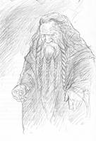 Thrain, son of Thror by TurnerMohan