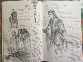 Elven clothing studies by TurnerMohan
