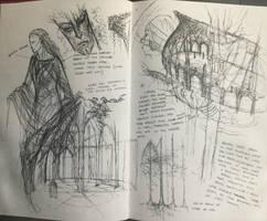 Galadriel studies by TurnerMohan