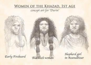 Dwarven women by TurnerMohan