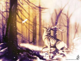 Forestspirit winter hope by Yuki6