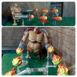 Mancubus and fireballs by ENulmer