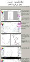 Lineart process - tut by psychocat1109