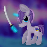 Ponies and Swords by Moralezk