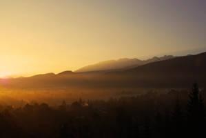 morning in zakopane by quapouchy