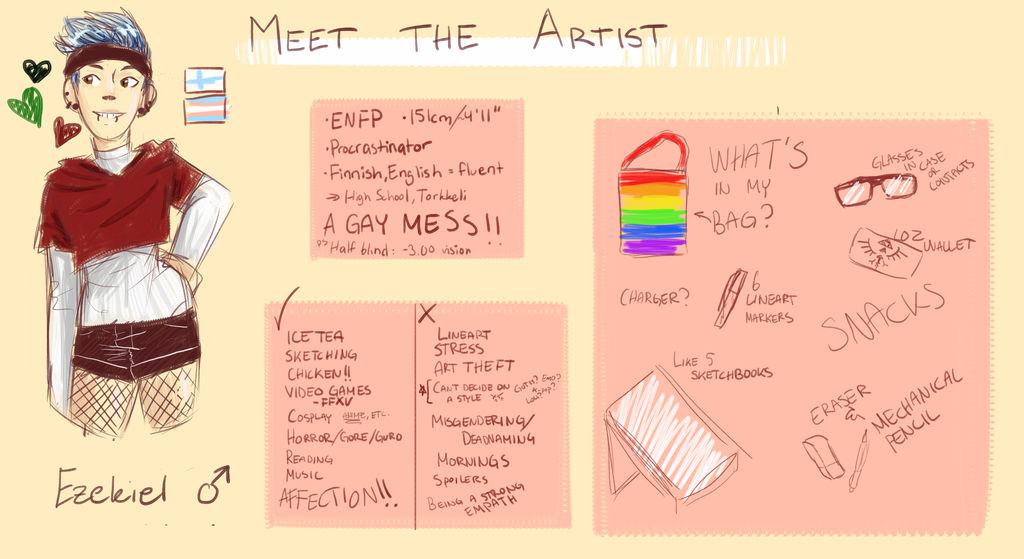 Meet The Artist by Nepeta132