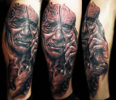 strange tattoo by hatefulss