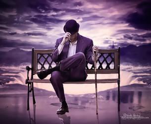 Violet mood by Blooomberg